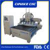 6 ranurador de la carpintería del corte del CNC de las pistas 3D para el corte del MDF