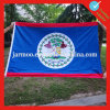 Grand drapeau extérieur adapté aux besoins du client pour la publicité