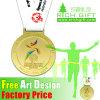 Medalla de la aleación del cinc del deporte del baloncesto de la corrida de la aduana de la alta calidad de los E.E.U.U.