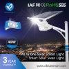 IP65 30W todo en luces solares al aire libre de una linterna de la calle