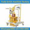 Qt40-3c China Máquinas de fabricação de tijolos móveis para pequenas indústrias