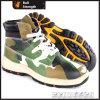 Лодыжка PU/Rubber Outsole Hiking ботинок с стальным пальцем ноги (SN5390)