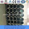 Tubo hexagonal galvanizado para la Pipa-Soldadura de la estructura