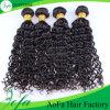 Barato profundamente cabelo do brasileiro da extensão do cabelo humano do Virgin de Remy da onda