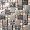 Cerámica y metal Mosaico (MR004)