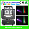매트릭스 9X10W LED Moving Head Beam와 Wash Light