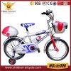 para 3-8years velho com a bicicleta plástica das crianças da cesta e da ferramenta