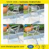 Silla de aluminio plegable de los muebles al aire libre