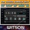 De AutoNavigatie van Witson voor de Bloemkroon van Toyota/Auris 2017 (W2-E8160)