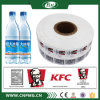 Étiquettes estampées sensibles à la chaleur de rétrécissement de PVC pour des propriétaires
