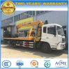 Camion di salvataggio di strada di Rhd LHD del Wrecker di Dongfeng 5t