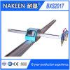 Mini cortadora plateada de metal de gas del plasma del CNC