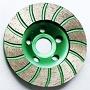 колесо чашки диаманта 7-Inch меля для гранита