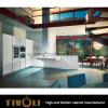 白い光沢の絵画食器棚Tivo-0159Vによって混合するメラミンキャビネット