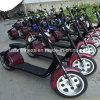 Motocicleta eléctrica de la venta 1000W 60V 20ah de la insignia caliente clásica del OEM
