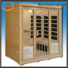 Chambre de sauna, pièce infrarouge de sauna, cabine de sauna
