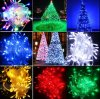 30m 300 luzes de Natal ao ar livre da corda da luz da corda do diodo emissor de luz com o conetor masculino e fêmea
