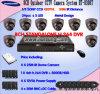 8CH CCTV DVR und 8 Haube-Kamera-Überwachung-Installationssatz (HT-8308T)