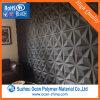лист PVC 1-1.5mm толщиной черный Matt твердый для панелей стены 3D