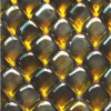 ガラス大理石のモザイクこはく色カラー