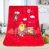 Cobertor macio super das crianças da flanela da cópia dos desenhos animados das crianças
