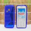 Caja del teléfono celular TPU con el estilo de S para Nokia N220