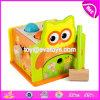 Het nieuwe Verpletterende Speelgoed van de Baby van het Ontwerp Milieuvriendelijke Grappige Houten 6 Maand Oude W11g037