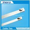 304 316 Grad-hitzebeständiger Edelstahl-Kabelbinder mit Cer ISO-UL