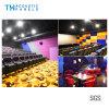 Placa acústica decorativa interior da fibra de poliéster de Retartant da flama para o cinema