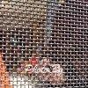 На экране из нержавеющей стали пуленепробиваемых проволочной сеткой