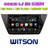 Witson 10.2  폭스바겐 Touran 2016년을%s Big Screen Android 6.0 Car DVD