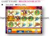 Brasilianische Beauty-20 Zeile spielendes Kasino-Spiel-Maschinen-Säulengang-Spiel-Maschine