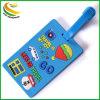 PVC personalizada Bolsa de identificación de la etiqueta de equipaje etiqueta viajes