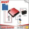 C.C. solar do inversor ao inversor puro da potência de onda do seno da C.A. 220V