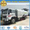 4X2 Straatveger HOWO de Was van de Weg van 8 M3 en Schone Vrachtwagen