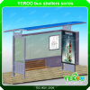 Muebles de la ciudad de refugio de Bus de metal exterior personalizado