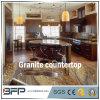 Natural piedra de granito encimera de la cocina con el pulido de superficies