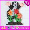 Preço inferior a maioria de brinquedo de madeira popular do enigma do alfabeto do Iq para as crianças W14I018