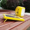 Indicatore luminoso di campeggio solare di vendita caldo del LED, lanterna solare per illuminazione