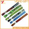 Kundenspezifische Festival-GewebeWristbands für Ereignisse (YB-LY-WR-17)