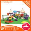 Внутри или вне помещений детский пластиковый сдвиньте игровая площадка для установки вне помещений