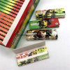 Papeles de balanceo blancos del tabaco de Weed del cáñamo del cigarrillo de Bob Marley