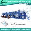 Fabricación Semi-Serva de la máquina del pañal del bebé de China (YNK450-HSV)