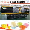 PLC Control Plastic Injection Molding Machine / Plastic Bowl Making Machine