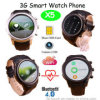 Bluetooth 손목 3G/WiFi 무선 통신망 X5를 가진 지능적인 시계 전화