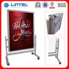AluminiumPoster Board Movable Poster Stand mit Wheels (LT-10D)