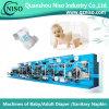 중국은 전문화했다 SGS (YNK300)를 가진 가득 차있는 자동적인 기저귀 기계를