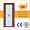 La qualité en verre intérieure de portes en bronze la meilleur marché (SC-AAD091)
