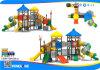 De plastic OpenluchtSpeelplaats van Jonge geitjes/de Speelplaats van het Park van de Wildernis Gym/Amusement