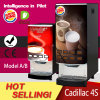 5 segundos/distribuidor dobro do café instantâneo de Cadillac 4s do copo